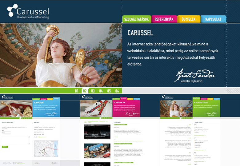 Carussel Web Design