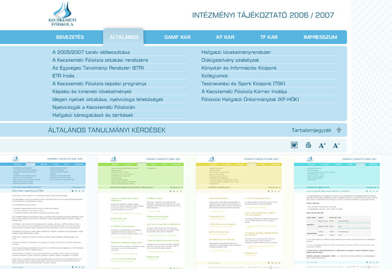 KEFO IT 2006/2007 Web Design