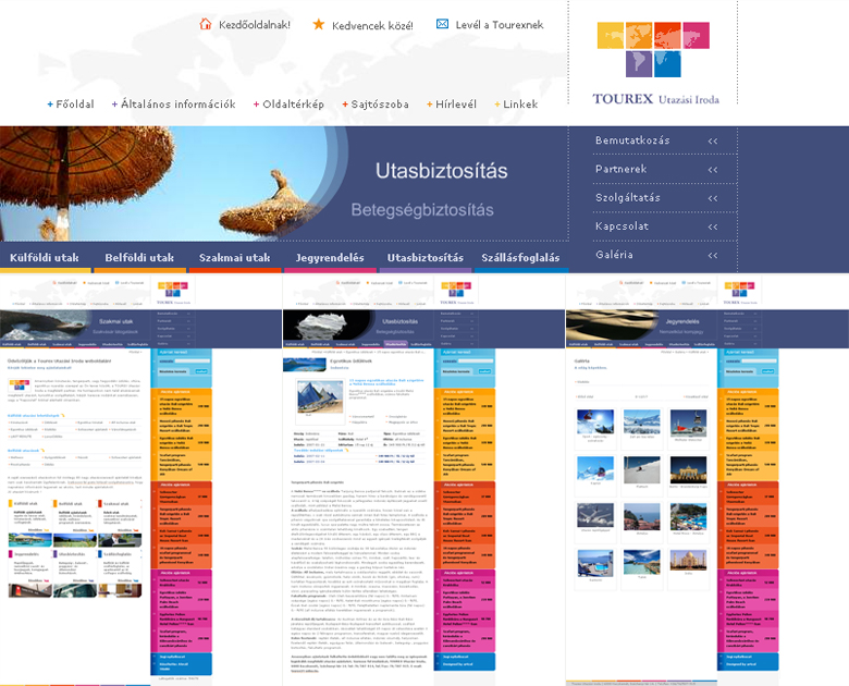 Tourex Web Design